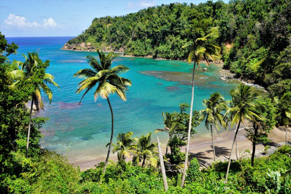 Nummer 1 in de lijst van Caribische eilanden is Dominica