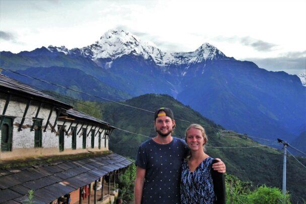 Hiking over het dak van de wereld in de Himalaya's