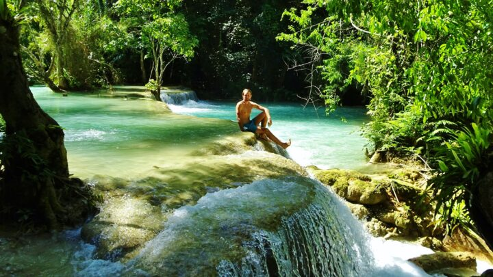Backpacken Laos: langs tempels en watervallen