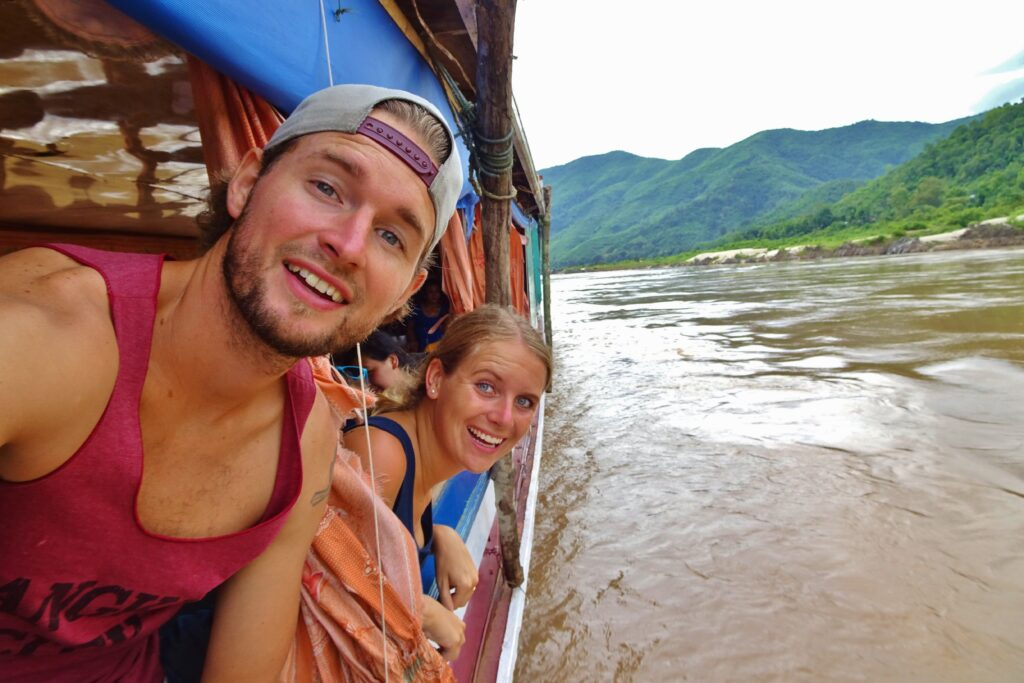 Het hoogtepunt als je gaat backpacken in Laos, is de slowboat naar Luang Prabang