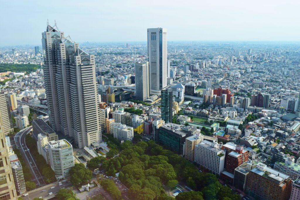 Wat te doen in Tokyo Shinjuku wolkenkrabbers