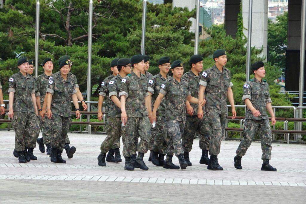 Militairen War Memorial Zuid-Korea Seoul