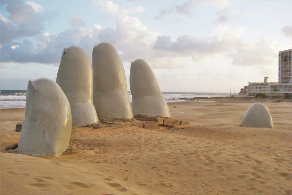 La Mano de Punta del Este in Uruguay