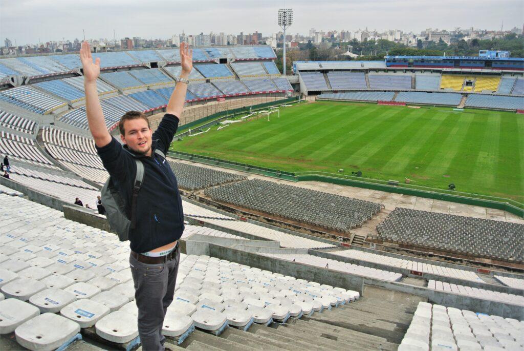 Estadio Centurario in Montevideo Uruguay