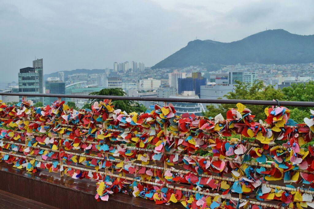 Kunstwerken in Busan, Zuid-Korea