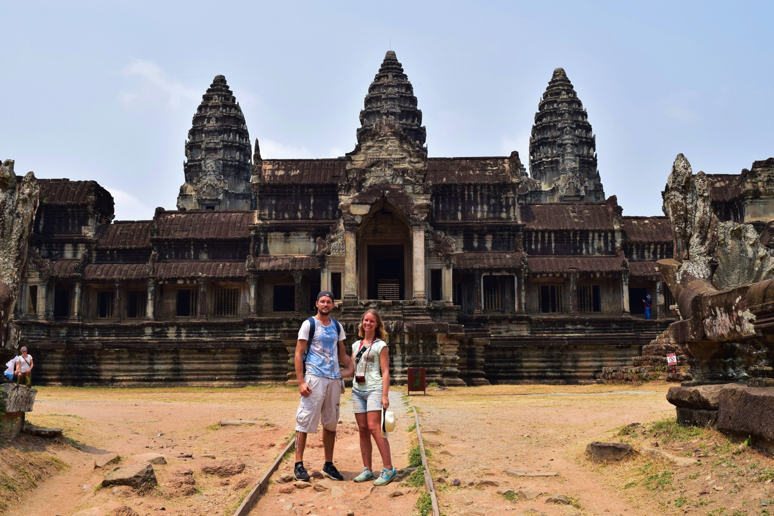 Angkor Wat Video backpacken in Cambodja