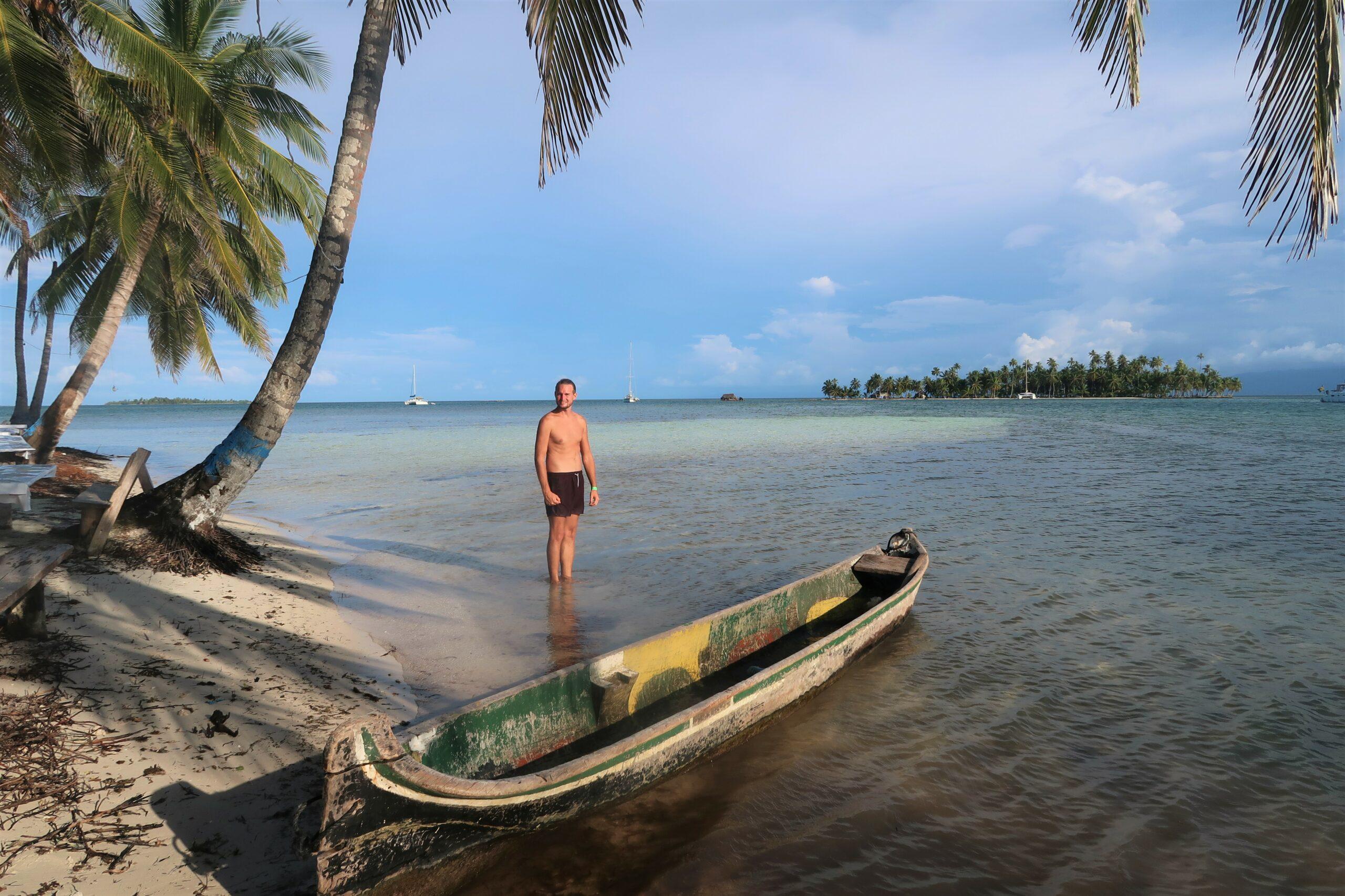 Backpacken op San Blas in Panama tussen de indianen en tropische eilanden.