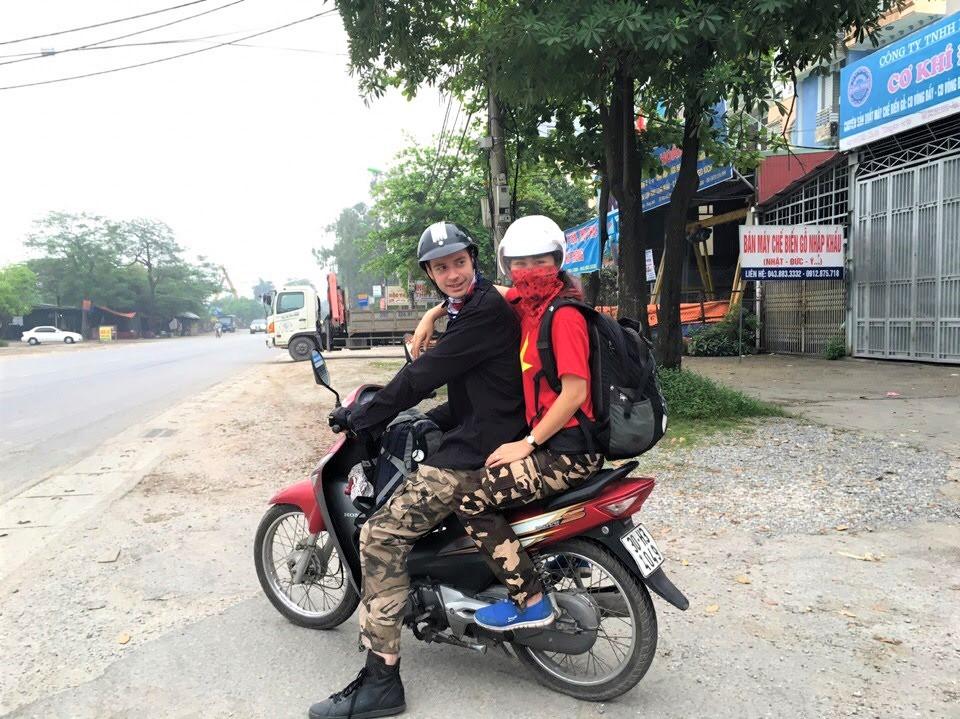 Tips Noord-Vietnam: de moto bike is het vervoersmiddel om hier rond te reizen.