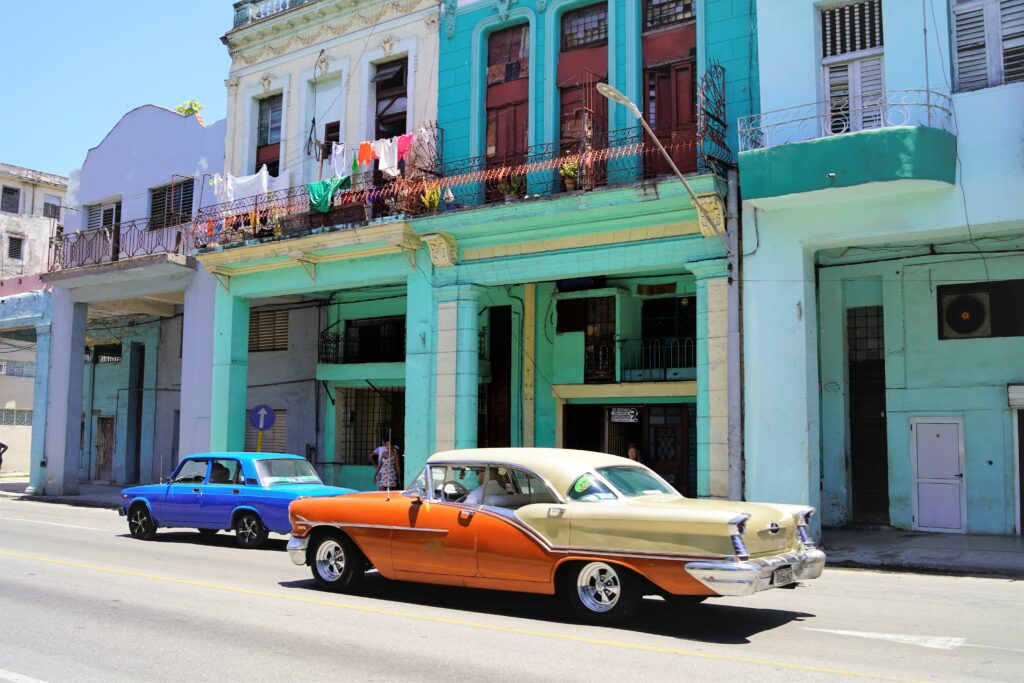 Cuba Old Havana klassieke auto oltimer