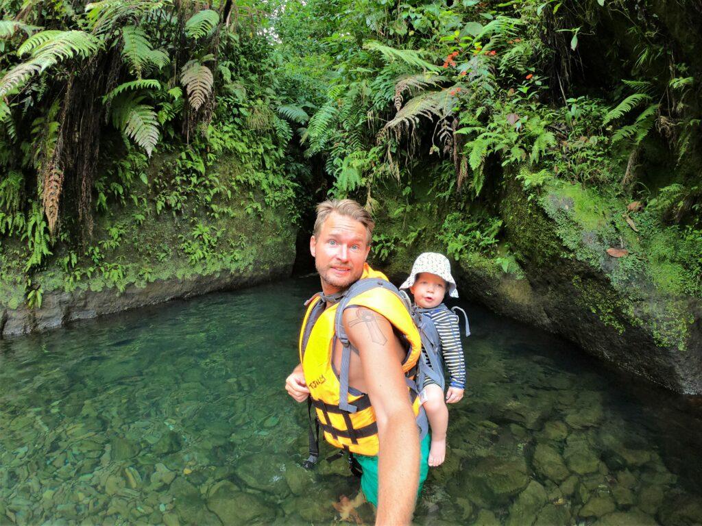 Dominica Titou Gorge zwemmen
