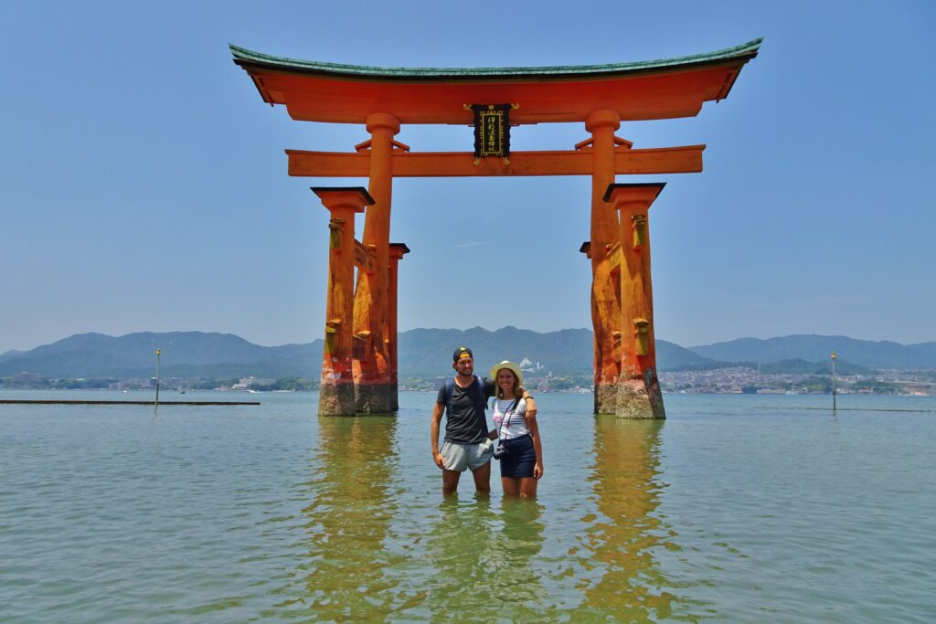 Rondreis Japan Floating Torii Hiroshima hoogtepunten bezienswaarigheden