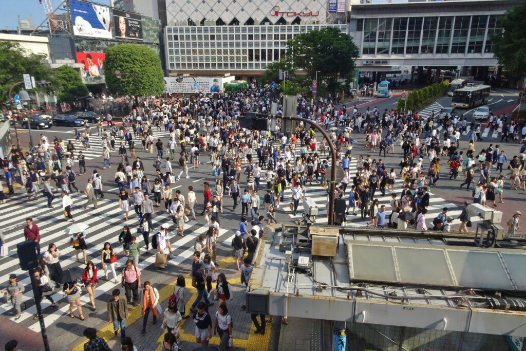 Rondreis Japan Shibuya Crossing hoogtepunten bezienswaarigheden