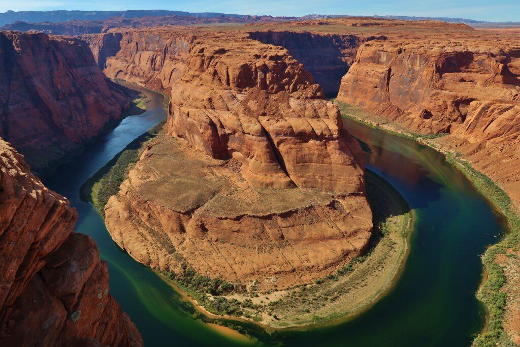 Top 10 westkust Amerika Bezienswaardigheden Horseshoe Bend