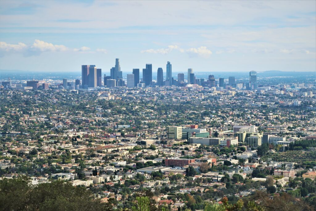 Top 10 west coast USA Los Angeles