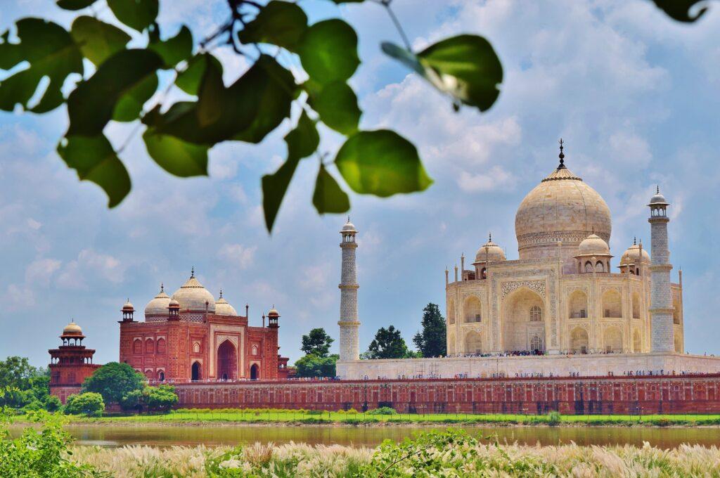 De Taj Mahal, hoogtepunt van India